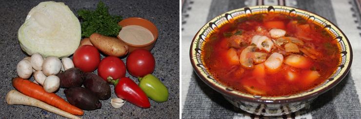 рецепт вегетарианского борща, украинская кухня, вегетарианская кухня, туры по Украине, экскурсионные туры по Европе из Украины