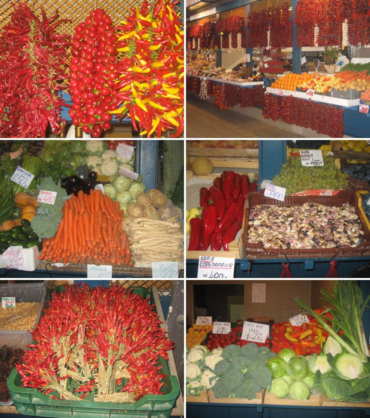 рынок в Будапеште, Будапешт