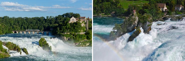 экскурсионные туры, автобусные туры, в Европу, по Европе, в Швейцарию, с вылетом из Киева, экскурсии в Швейцарии, Рейнский водопад, Райнфалль
