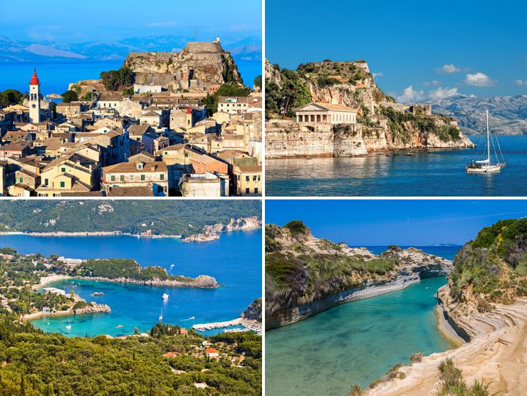 тур в Грецию купить, отдых на море в Греции, тур на Корфу купить