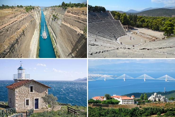 тур в Грецию купить, тур на Пелопоннес купить, отдых на море в Греции